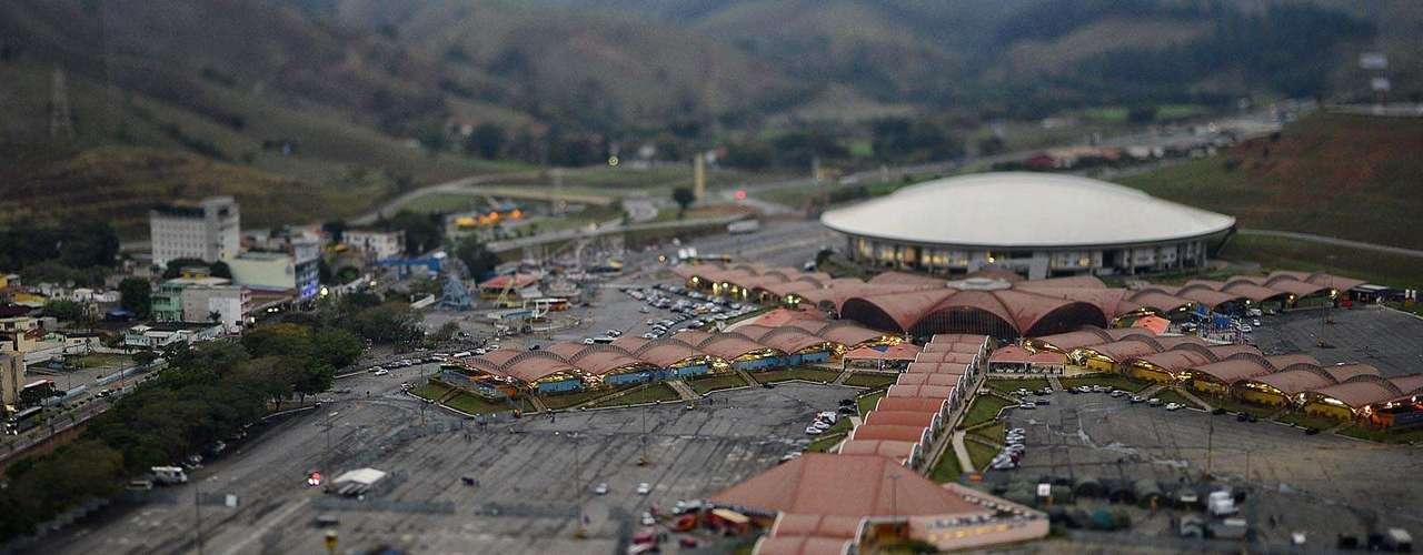 23 de julho -Vista do Santuário Nacional de Aparecida