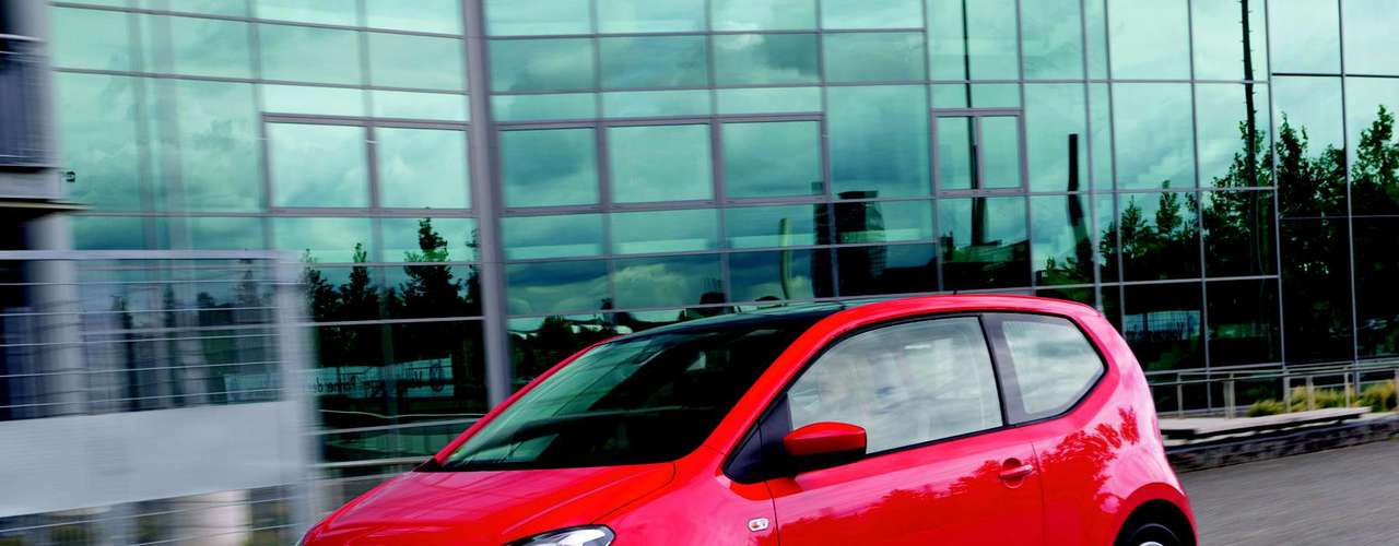 O Volkswagen Up!, novo veículo da marca que deve vir ao Brasil, vem sendo testado pela montadora no País
