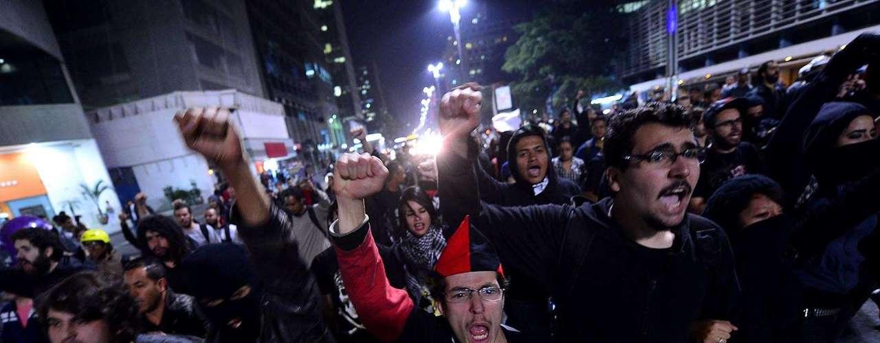 30 de julho - Marcha caminhou pela avenida Paulista