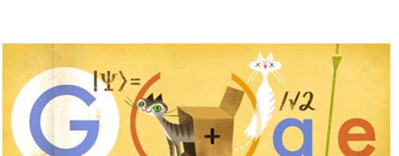 12 de agosto - Erwin Schrödinger, físico austríaco, completaria 126 anos nesta data