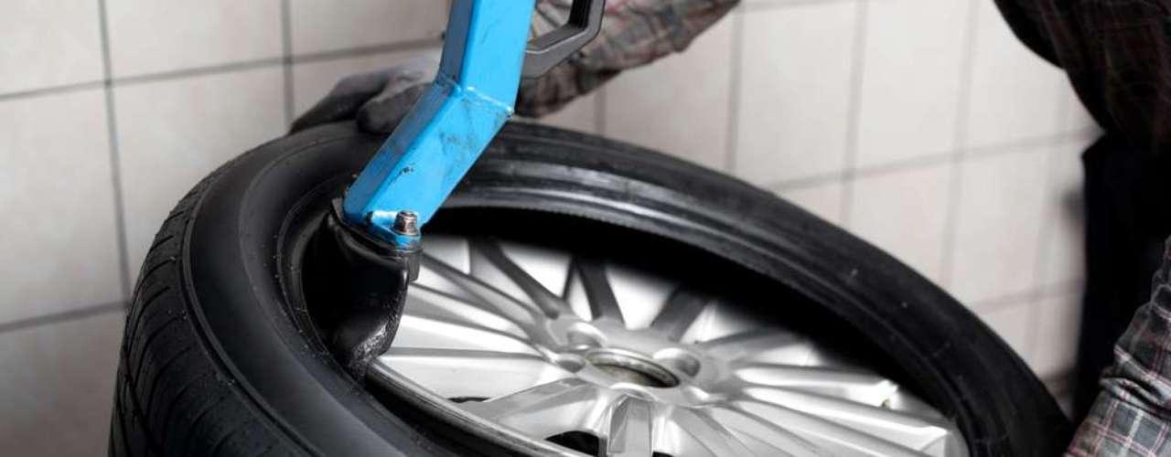 As informações são importantes especialmente na hora da troca dos pneus
