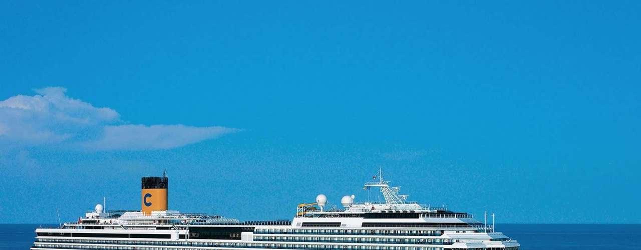 A promoção vale para os navios Costa Fascinosa, Costa Favolosa e Grand Mistral
