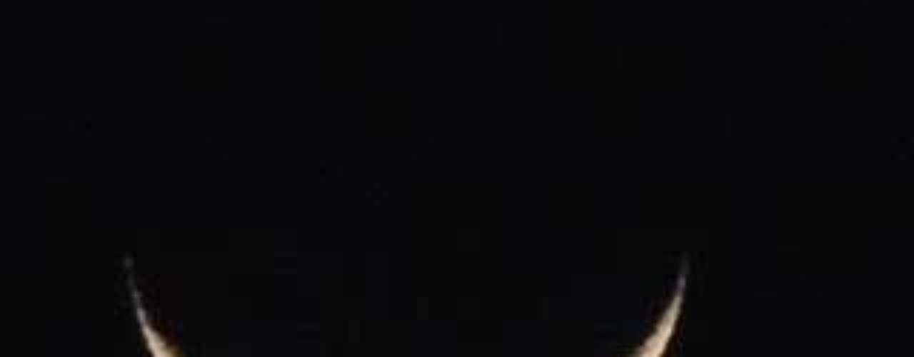 O alinhamento do planeta Vênus com a Lua encantou os moradores de Sorocaba, no interior de São Paulo