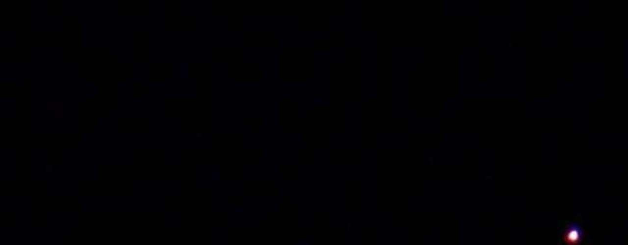 O alinhamento entre Vênus e a Lua foi observado no céu da capital paulista
