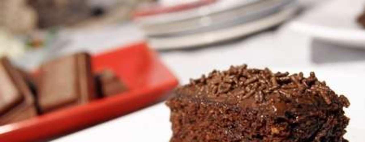 Bolo de chocolate para micro-ondas
