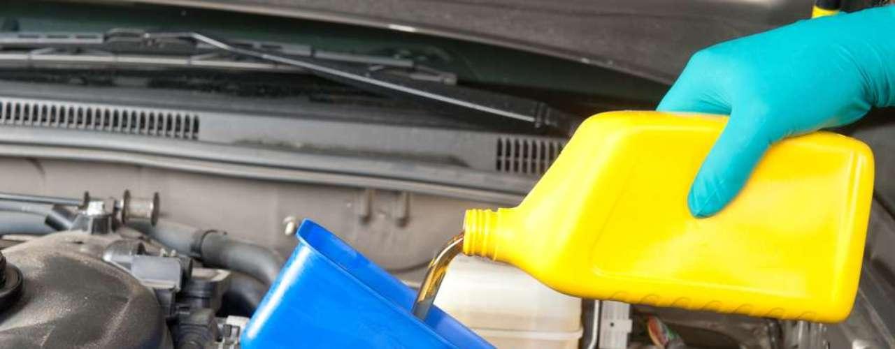 Verifique o lembrete de última troca de óleo
