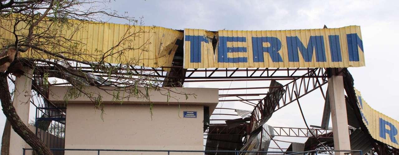 23 de setembro - Município decretou estado de calamidade pública após tornado