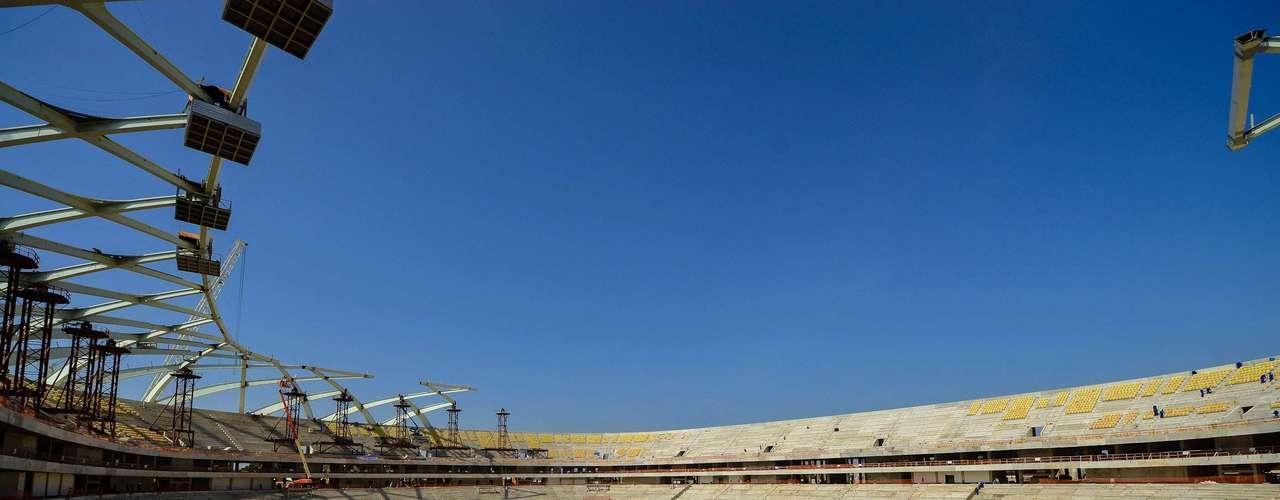 Sede de Manaus da Copa do Mundo de 2014, Arena da Amazônia chega a 83,27% das obras executadas