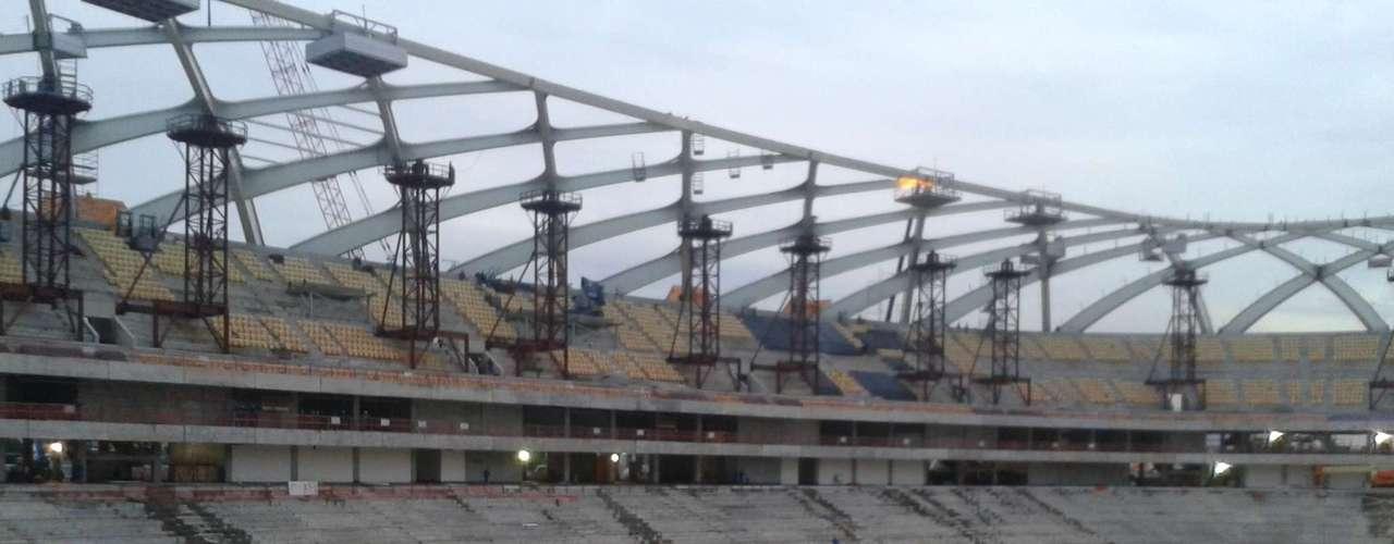 30 de setembro:  de acordo com as recomendações da FIFA, o novo estádio receberá o sistema de drenagem a vácuo