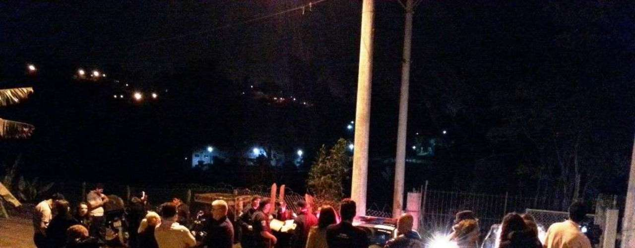 18 de outubro -A Guarda Metropolitanafoi acionada e acompanhou a movimentação em frente ao local