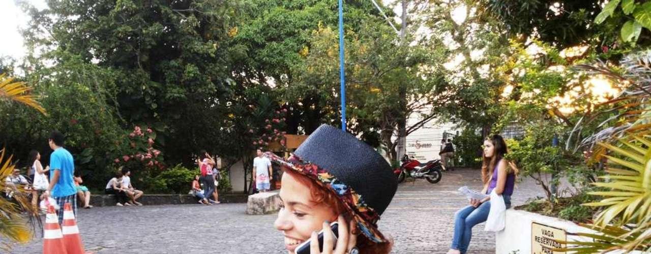 Salvador - Ludmila Cordeiro, 21 anos, está fazendo a prova pela terceira vez