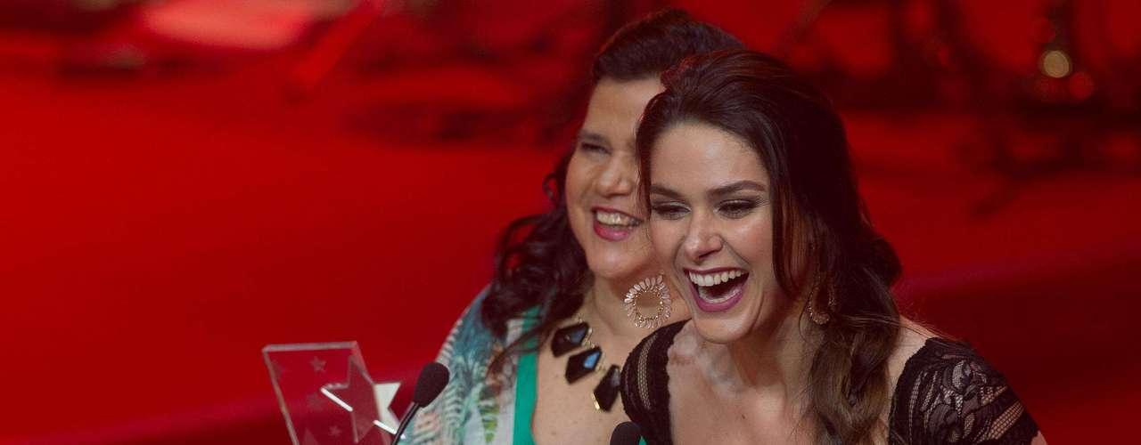 Com seis prêmios, a novela 'Amor à Vida' sagrou-se a grande campeã do Prêmio Extra de Televisão, apresentado nesta terça-feira à noite no Rio de Janeiro pelos atores Marco Nanini e Marieta Severo; veja fotos da premiação
