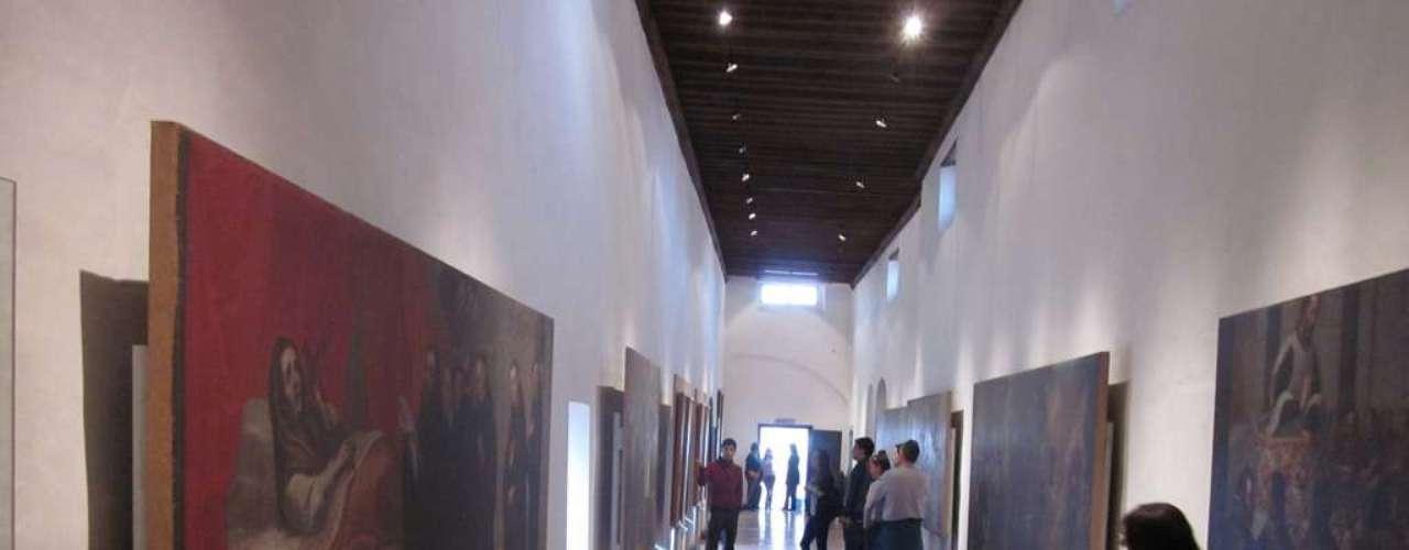 A atração está instalada no antigo Convento de Santa Mônica, que iniciou suas atividades em 1688