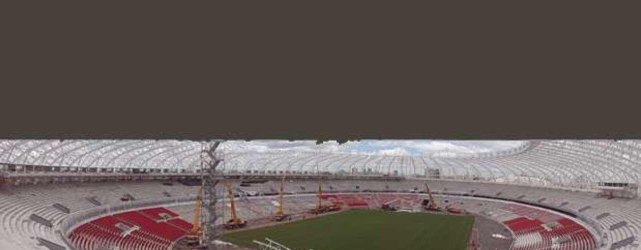 19 de novembro: Beira-Rio acerta últimos detalhes de sua cobertura; estádio está na fase final de suas obras