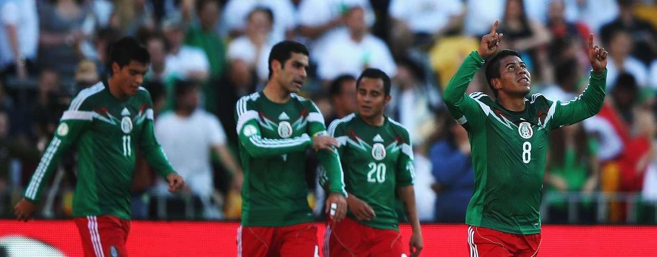 México - vencedor da repescagem entre o quarto colocado das Eliminatórias da Concacaf e a Nova Zelândia, representante da Oceania