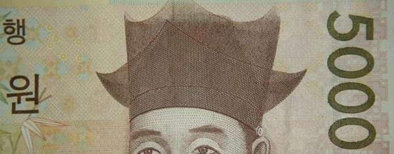 Com um dólar é possível adquirir 1.060 wons sul-coreanos. O termo won é o mesmo desde a Idade Média