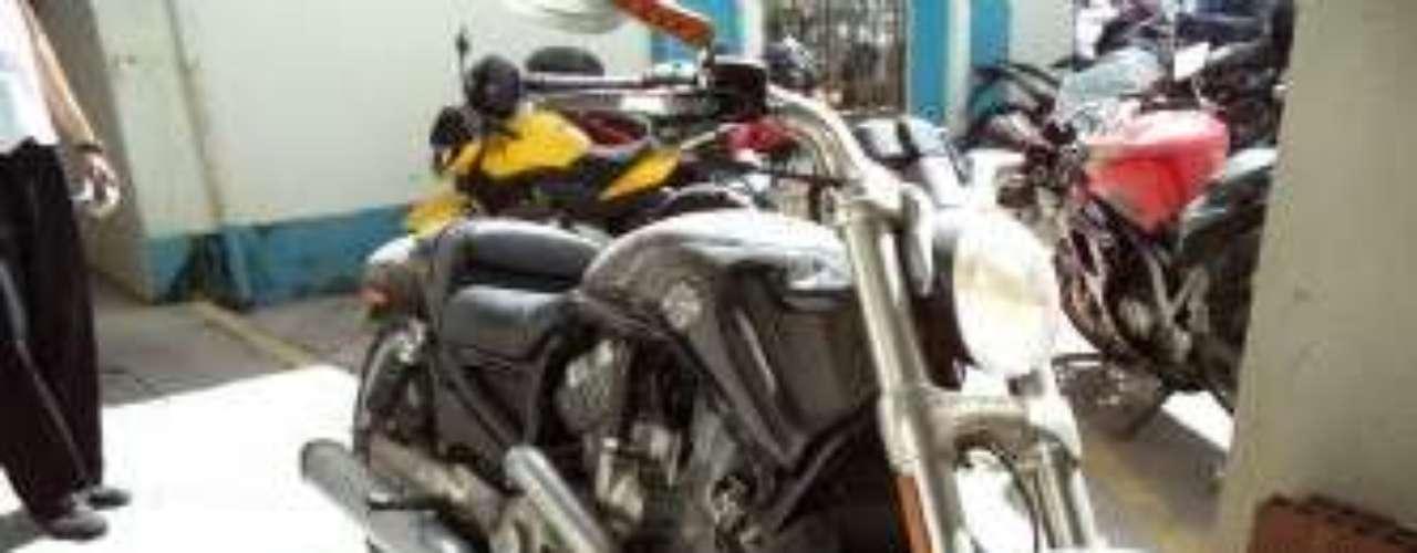 Harley Davidson 2009 não foi levada
