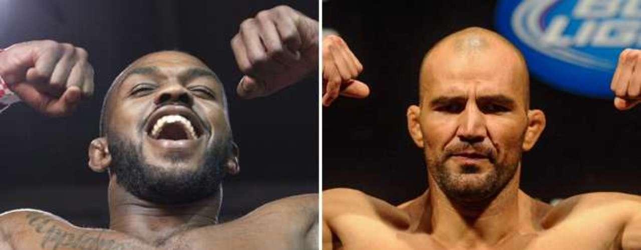 3º Jon Jones x Glover Teixeira, em 26 de abril, em Baltimore (EUA) Vale o cinturão do peso meio-pesado
