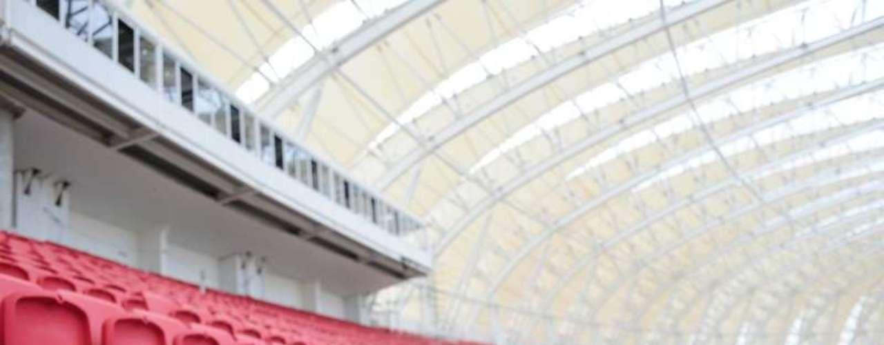 3 de janeiro de 2014: estádio pode ser utilizado já em jogos do Campeonato Gaúcho