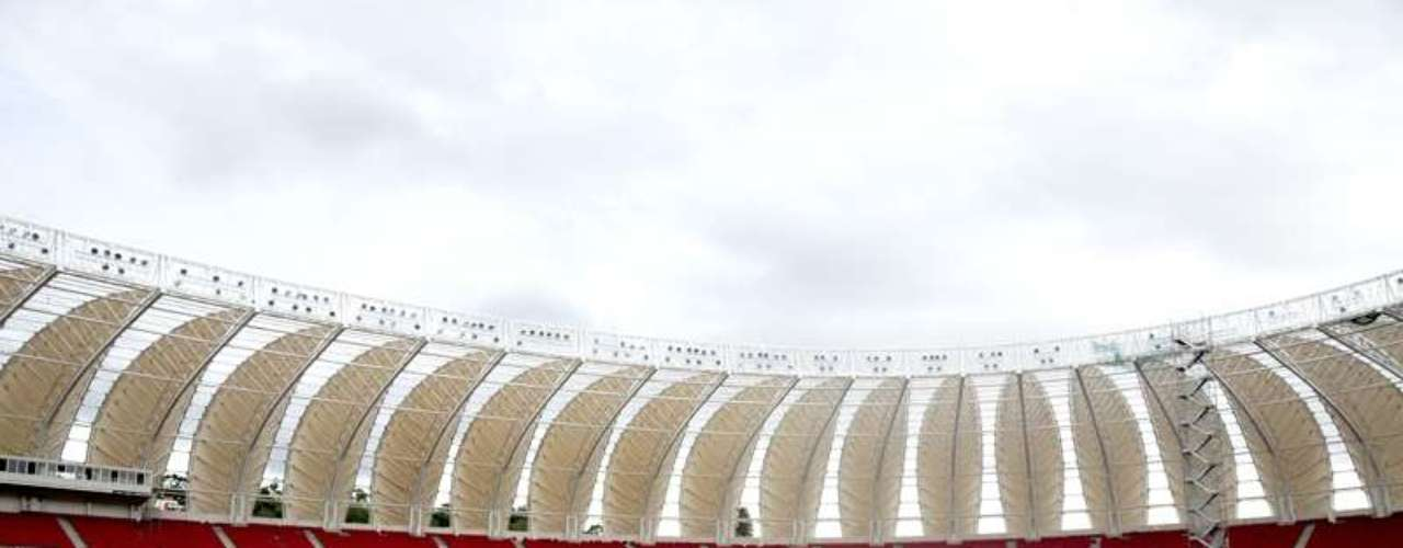 3 de janeiro de 2014: Internacional divulga novas imagens das obras do Estádio do Beira-Rio