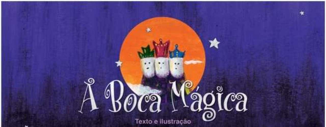 O livro A Boca Mágica conta a história de Lico, um garoto que, depois de sofrer a pior das dores, a dor de dente, é levado para interior de sua própria boca