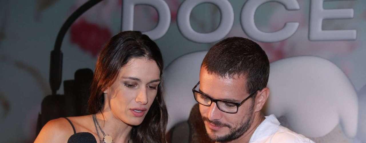 O elenco de Doce de Mãe divulgou nessa terça-feira (21) a nova série da Globo