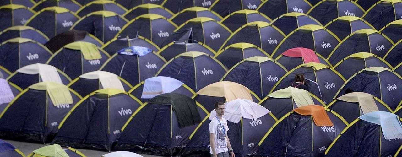Os oito mil ingressos para o camping e Arena custavam de R$ 150 a R$ 300, mas estão esgotados