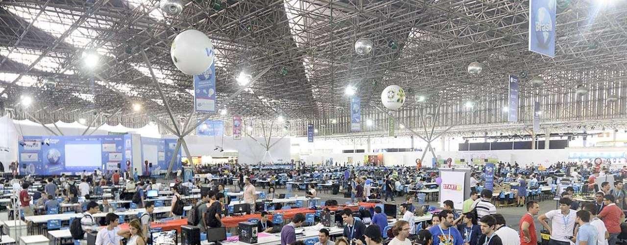 Organizadores esperam cerca de 160 mil visitantes na sétima edição da Campus Party em São Paulo