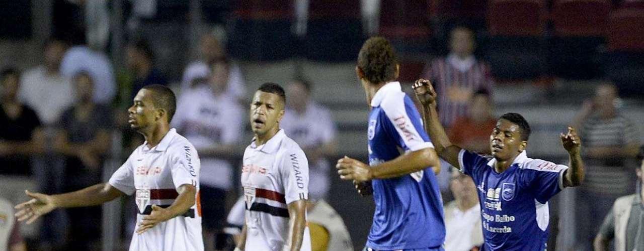 Rio Claro chegou a ficar dois gols atrás no placar