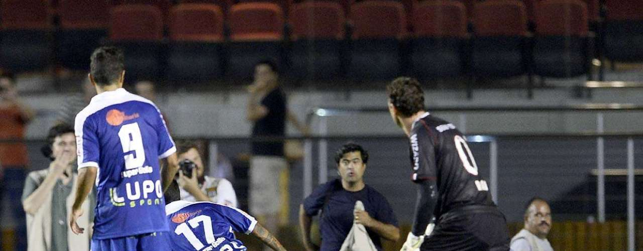 Ceni falhou em um dos gols do Rio Claro