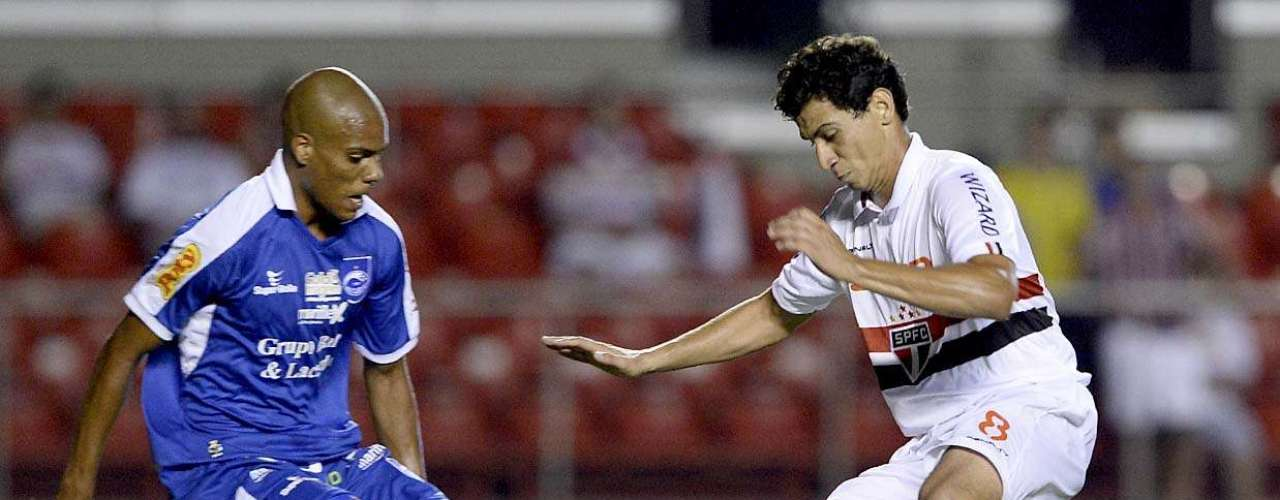 Ganso teve bom segundo tempo, com passe genial em lance do quarto gol