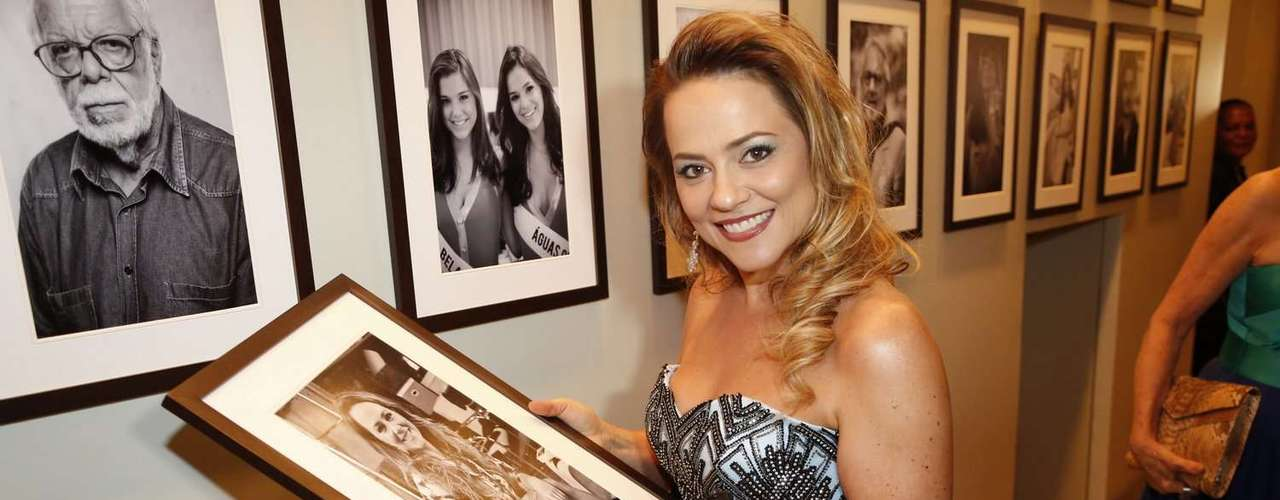 A atriz Vivianne Pasmanter