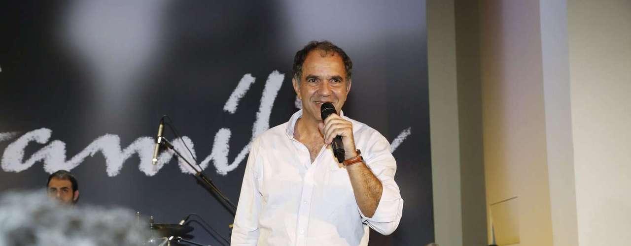 Humberto Martins, o intérprete de Virgílio na trama, falou sobre a história da novela durante a festa de lançamento
