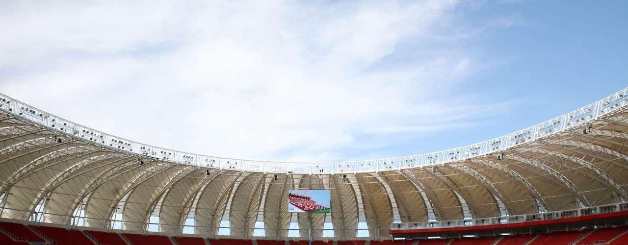 19 de fevereiro: com obras no fim, Beira-Rio já faz seus primeiros testes