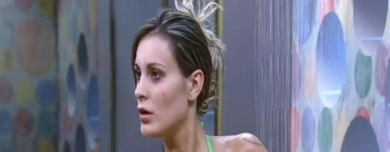No mesmo ano, Andressa participa do reality show A Fazenda. Ela protagonizou brigas com outras participantes, e chegou a cuspir em Denise Rocha. Por outro lado, ela também teve seus
