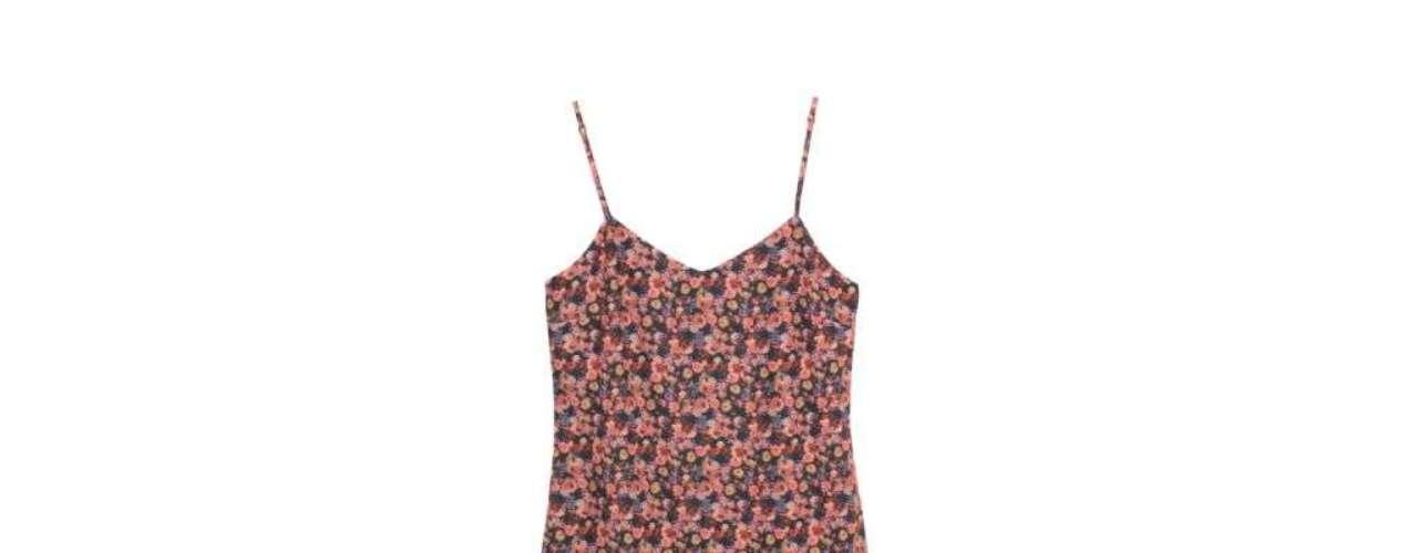 Vestido de alcinha floral Riachuelo. R$ 69.90. SAC: 3003-4342