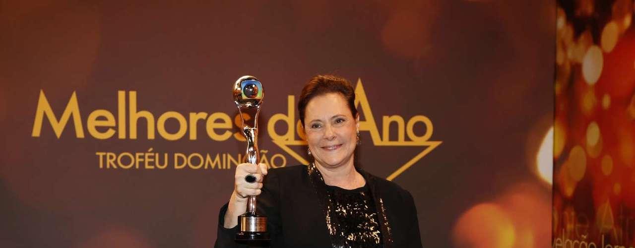 Atriz Coadjuvante -Elizabeth Savalla viveu a Márcia, de 'Amor à Vida'