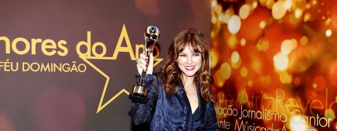 Melhor Atriz - Paolla Oliveira interpretou a mocinha Paloma, de 'Amor à Vida'