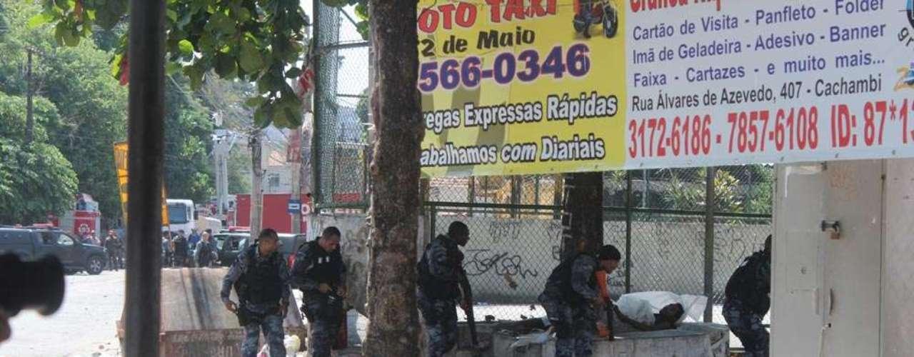 Batalhão de Choque vai as ruas para impedir que novas ocupações aconteçam