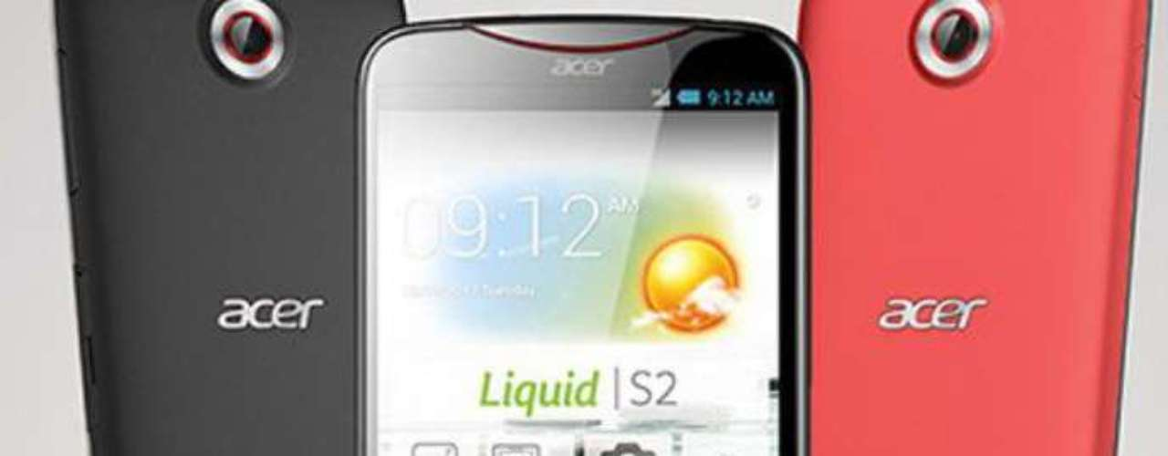 Acer Liquid S2 - smartphone tem câmera 4K, quatro vezes superior ao FullHD, e resolução de 27 megapixels. A tela é de 6 polegadas e o processador dual-core é de 2,2 GHz
