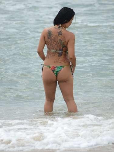 1° de janeiro Praia Mole foi um dos locais escolhidos pelos banhistas em Florianópolis