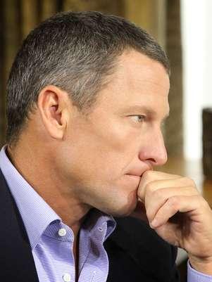 Lance Armstrong foi banido do ciclismo por escândalo de doping Foto: Getty Images
