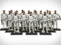 Una 'Custom D-Tech Me Stormtrooper Action Figure' costar 100 dlares y los fans recibirn su mueco de 7 a 8 semanas despus. Foto: Reproduccin