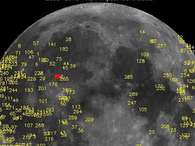 Se registra la mayor explosin lunar de la historia. Foto: Atlas