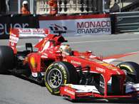 Fernando Alonso, en Mónaco Foto: Getty Images
