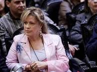 Ex ministra de Bienes nacionales y candidata a diputada por el distrito 38,Catalina Parot (RN). Foto: Agencia Uno