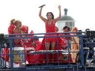 Licia Fabio tinha parceria com Daniela Mercury Foto: J. Humberto / AgNews