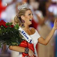 Miss New York crowned as Miss America 2013 in Las Vegas. Photo: AP