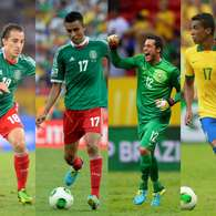 Confed Cup: Players to follow in Brazil vs. Mexico (photos). Photo: Getty Images