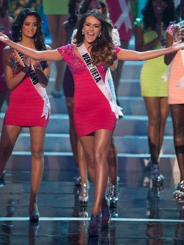 Irene Sofía Esser Quintero, Miss Venezuela, foi uma das 16 selecionadas para o desfile de trajes de banho. O Miss Universo 2012 foi realizado no Planet Hollywood Resort e Casino, em Las Vegas, Estados Unidos, nesta quinta-feira (19)